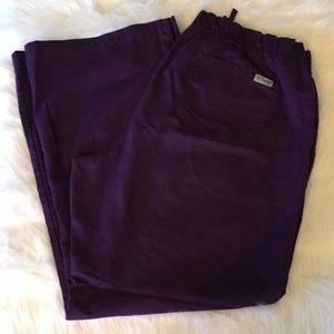 Grey's Anatomy Purple Scrub Pants